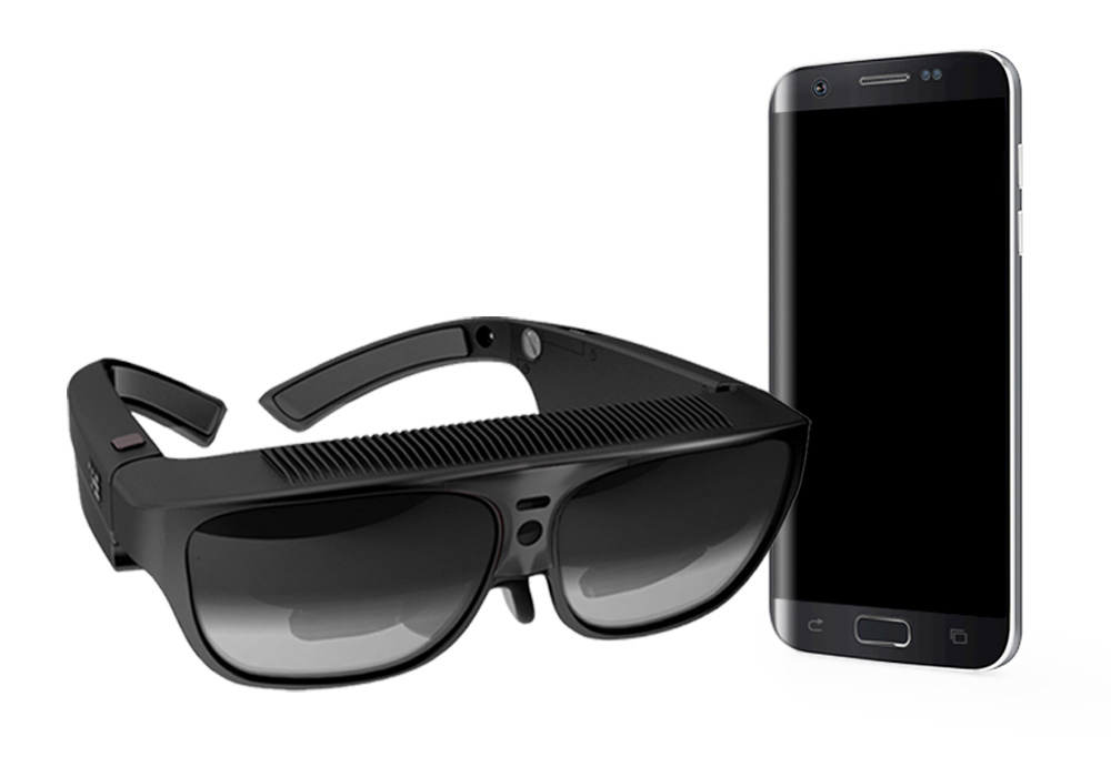 Augmented Reality Geräte Beispiel
