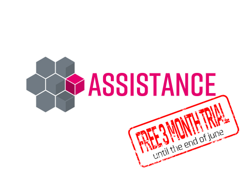 indeca 4d mix assistance logo fernwartung tele maintenance remote assistance