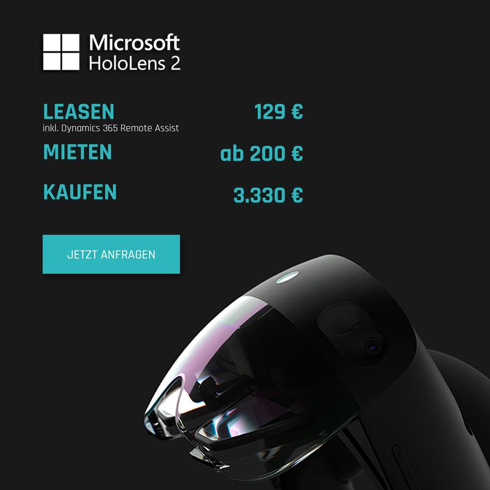 HoloLens 2 Preis Günstig Leasing Mieten Kaufen