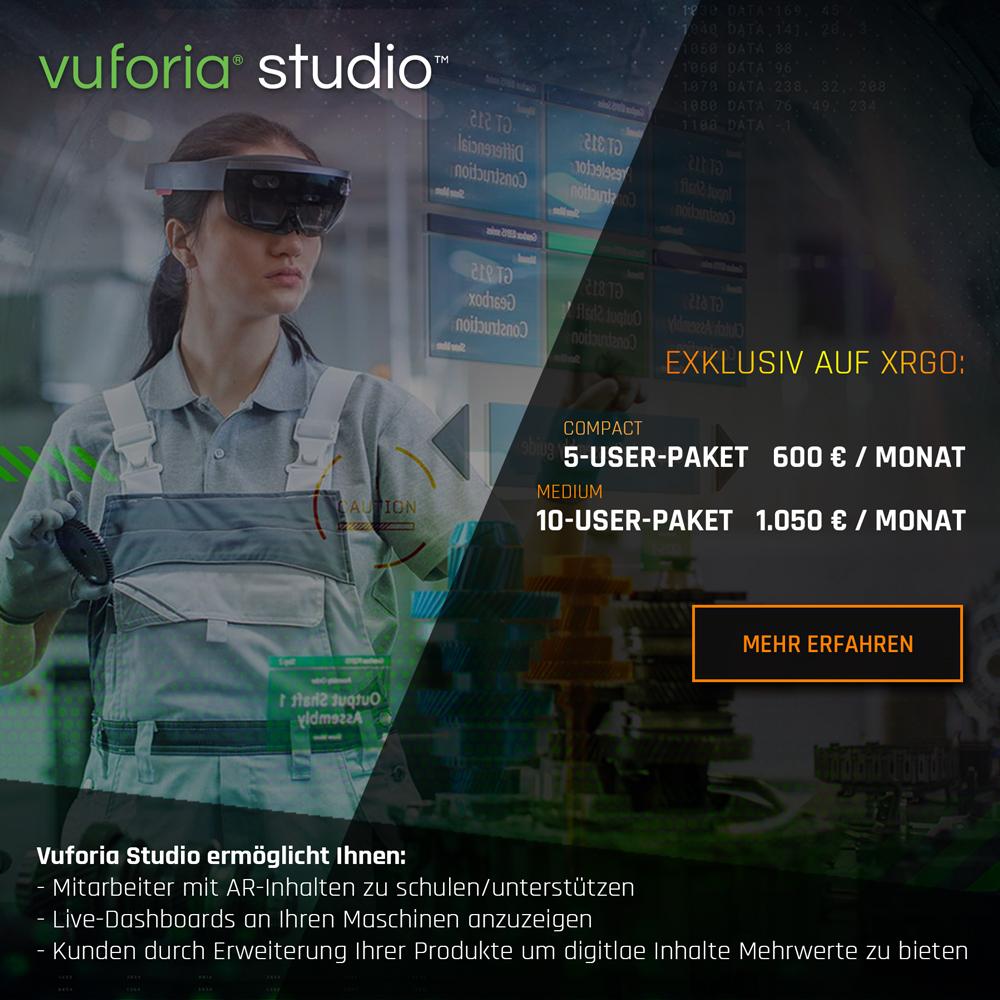 Vuforia Studio Preis Banner Mobile