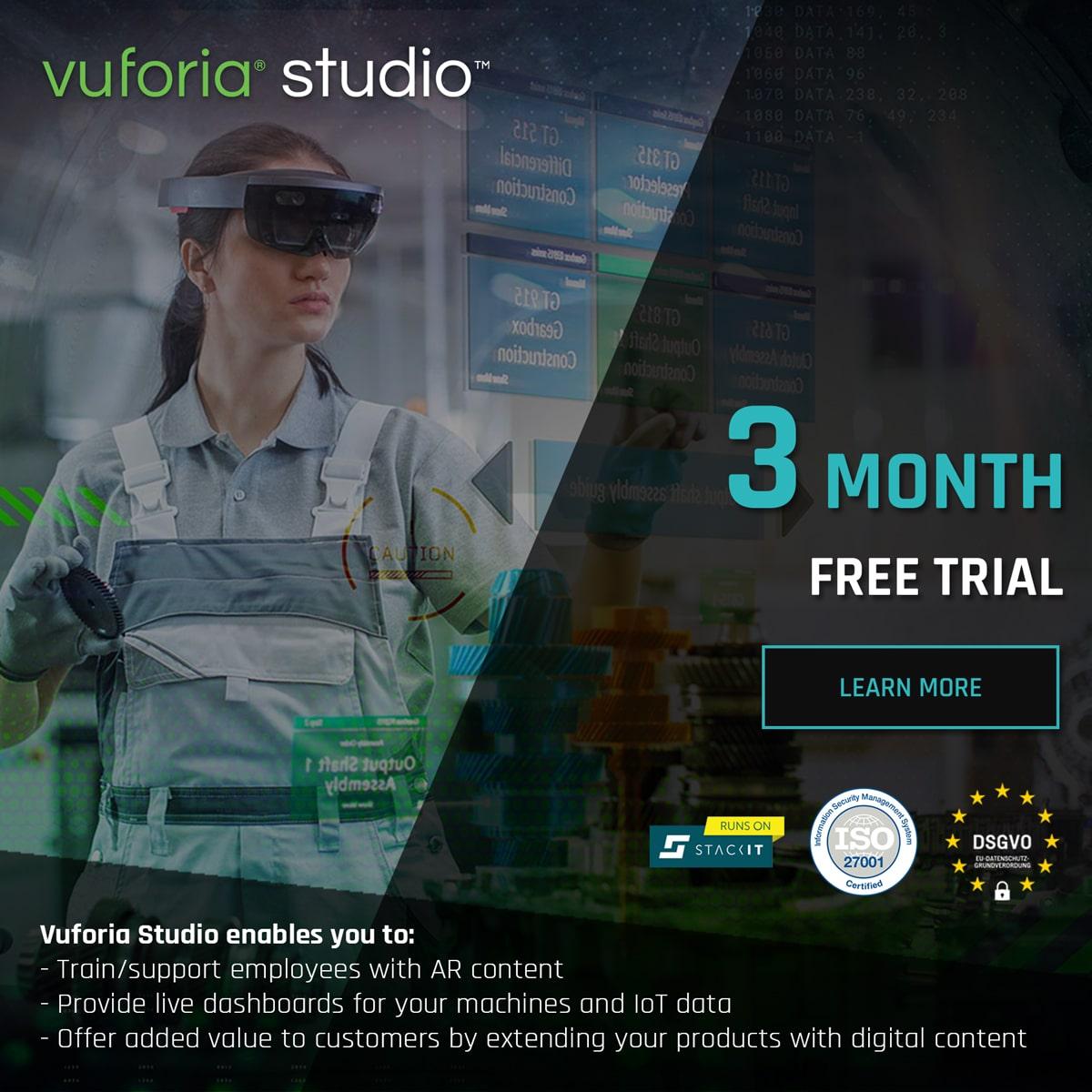 Vuforia Studio Free Trial