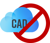 no CAD computer aided design computer-aided-design secure security datensicherheit datenmissbrauch