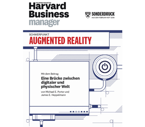 Harvard Business manager Augmented Reality vuforia studio PTC digitalization digitalisierung
