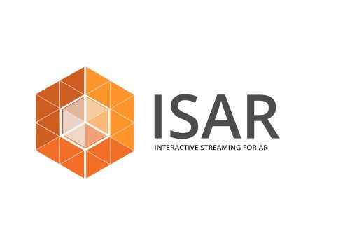 ISAR SDK Logo Interactive Streaming for Augmented Reality Remote Rendering real-time echtzeit software development kit