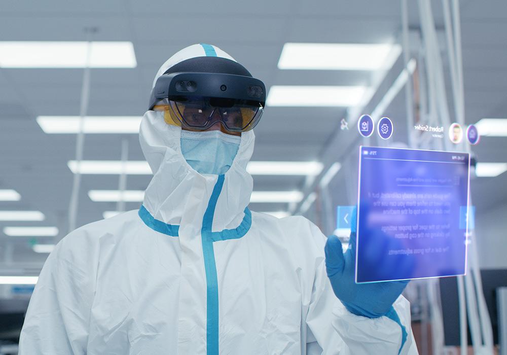 HoloLens 2 für Reinräume