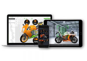 KTM Motorrad motor cycle Augmented Reality IoT Authering Tool Software