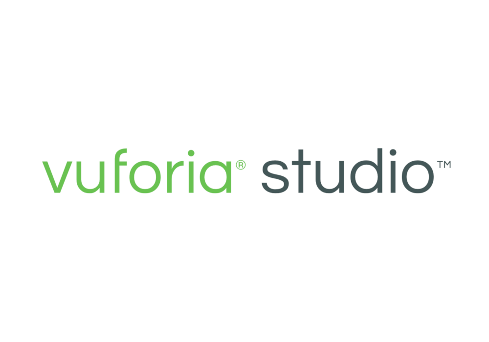 vuforia studio logo Software product produkt Authoring tool Augmented Reality IoT ThingMark Model Tracking Image Spatial Markerless Recognition