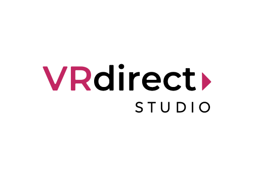 VRdirect Studio logo Authoring Editor editing erstellung VR-Erlebnisse VR-Experiences 360°-Erlebnisse 360-Grad-Erlebnisse logo