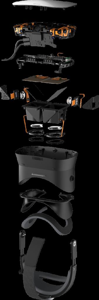 Varjo VR-1 Explosion specs