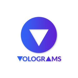 Logo Volograms .png .jpg AR VR Augmented Reality Video capture aufnahme