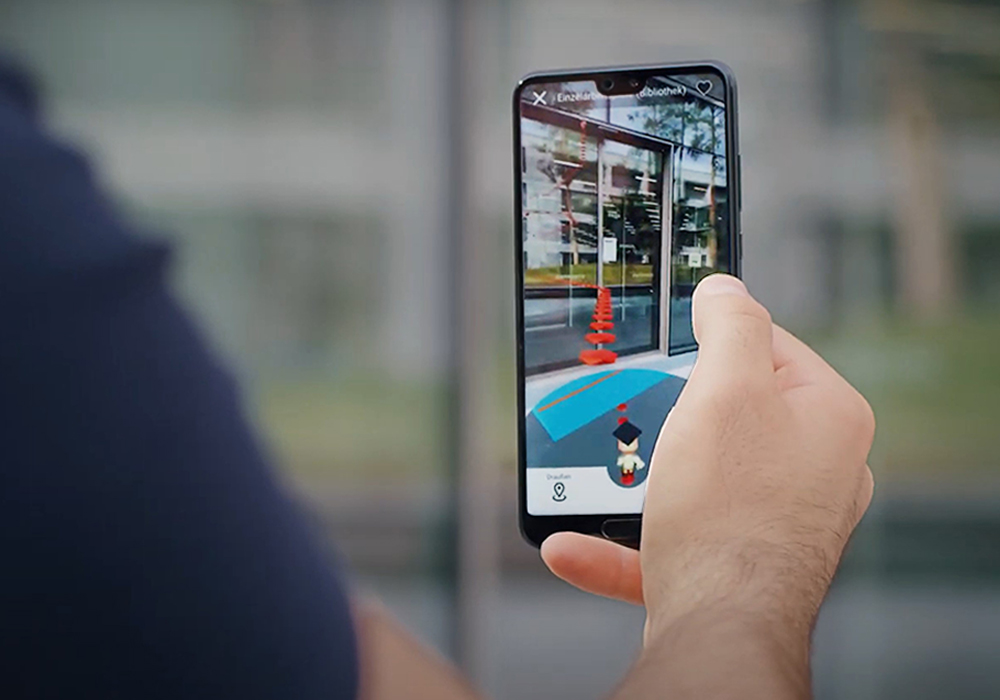 XRGO Augmented Reality Navigation App