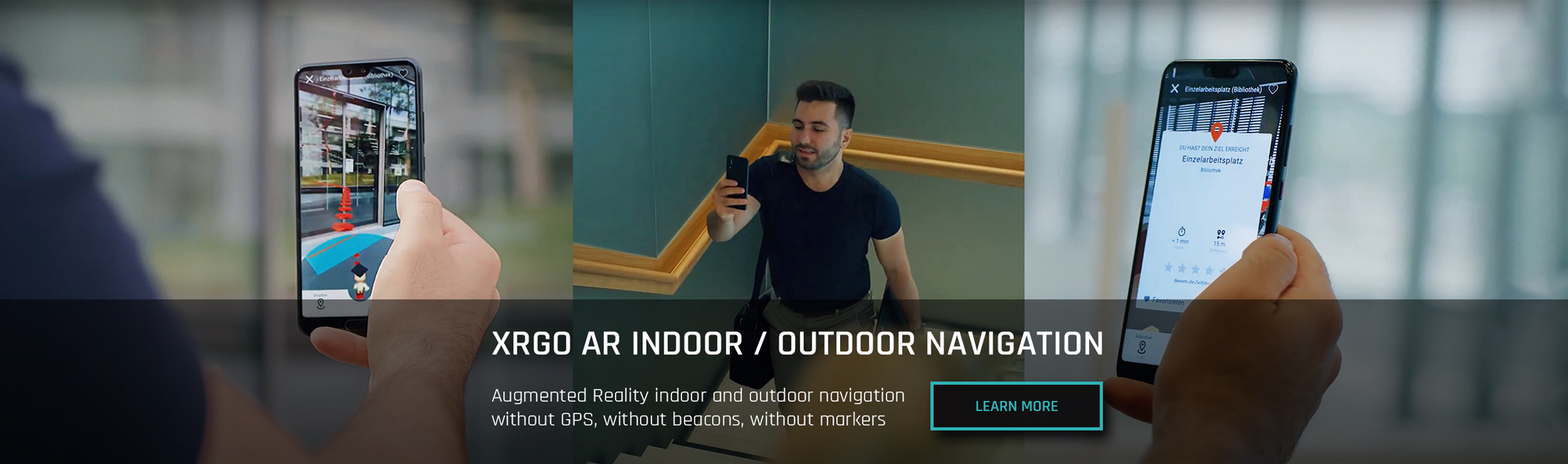 AR Indoor Navigation Microsoft Spatial Anchors
