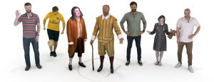3d scan people menschen 3d scannen augmented reality ar mr produktscan