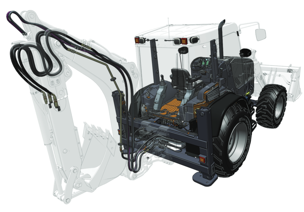 traktor tractor reifen bagger
