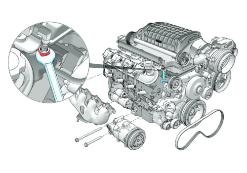 motor engine creo illustrate