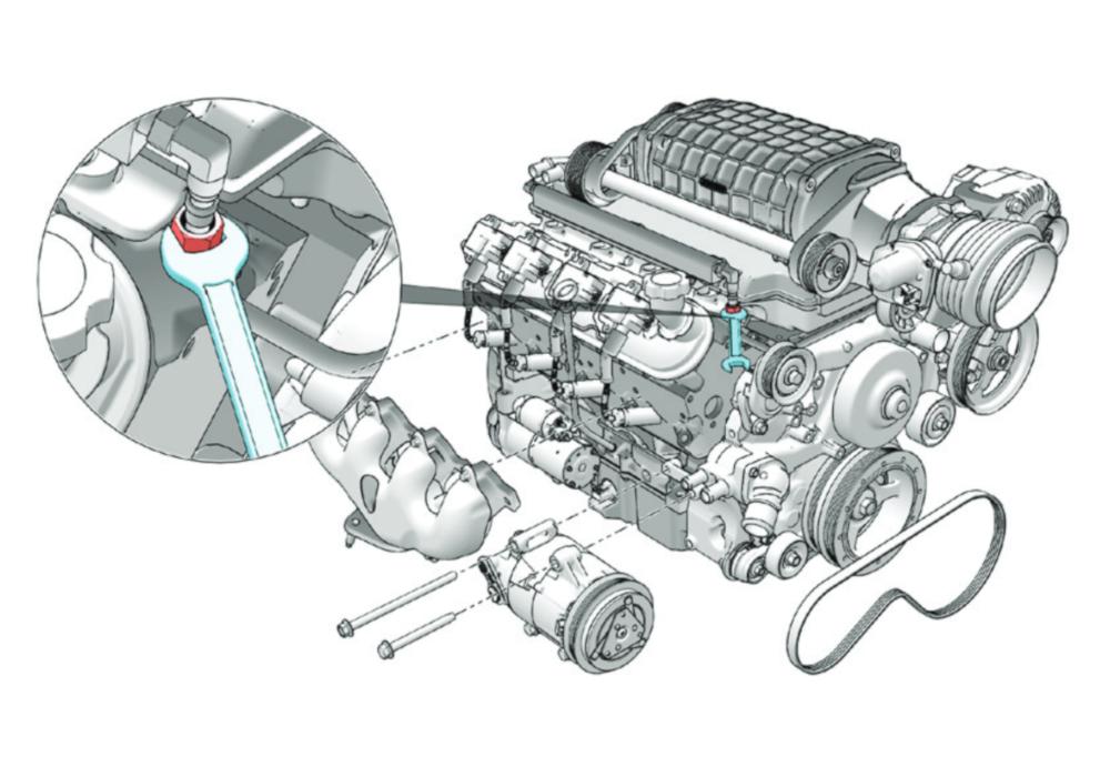 motor engine creo illustrate schrauben teile zylinder zahnriemen animation schritt-für-schritt step-by-step instruction