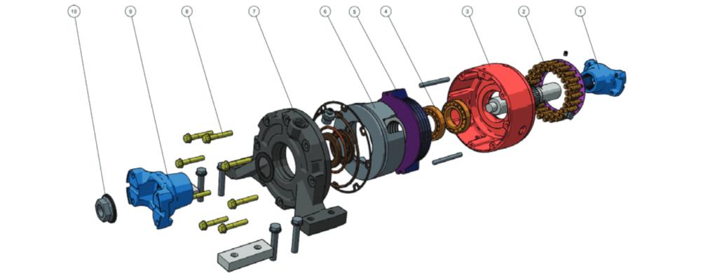 creo illustrate einzelteile stückliste teile parts genuine parts eBOM BOM