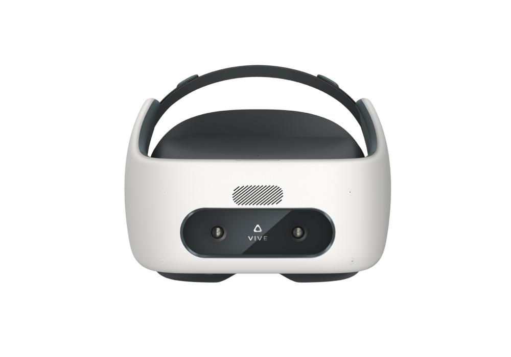 HTC VIVE Focus Brille VR glasses virtual reality 360° kabellos ungebunden free 6dof perspektive front