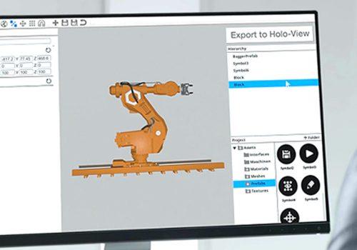 holo-view collaboration desktop 3d configuration