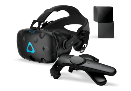htc vive vr system virtual reality immersion immersiv eintauchen 360° degrees brille glasses sensors sensoren real hochauflösend high resolution