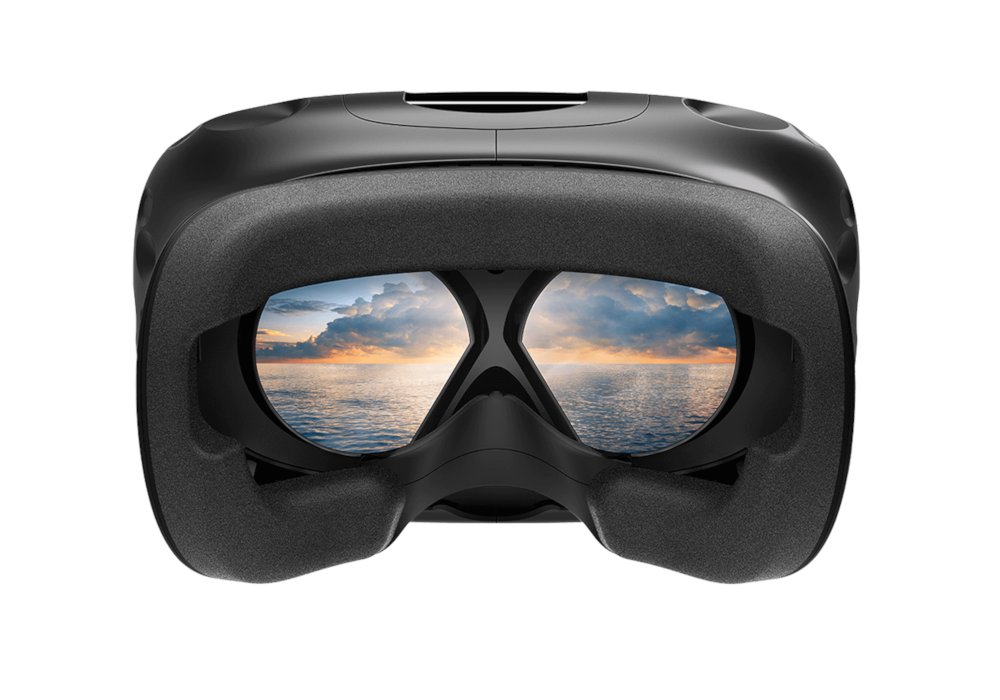 htc vive vr virtual reality inside view glasses headset brille hmd head-mounted-display panorama aussicht 360° degrees immersiv immersion hd high definition resolution hochauflösend