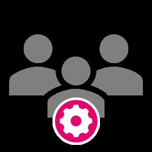 verwalten manage assistance portal organize organisieren
