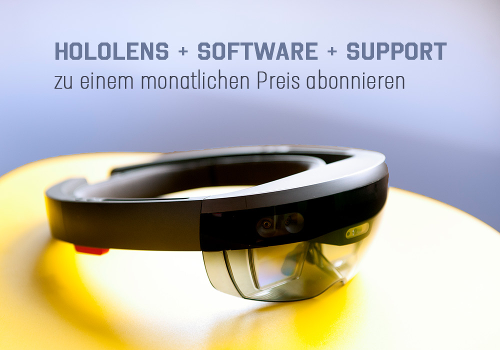 MRaaS - HoloLens + Software in Rental Model - XRGO - Mixed
