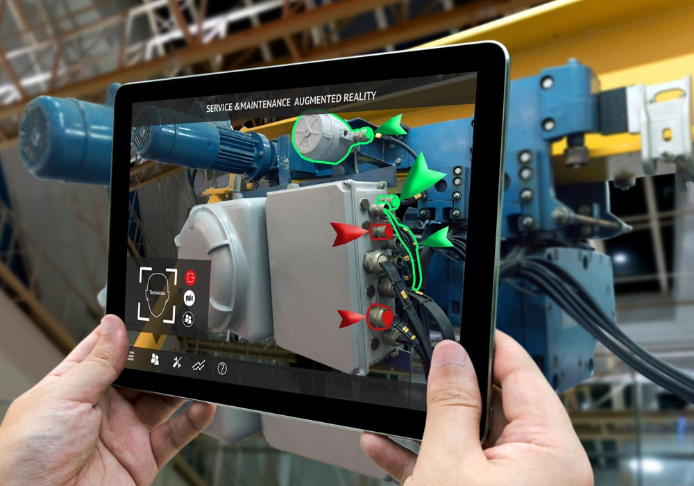 predictive maintenance condition monitoring augmented reality solution