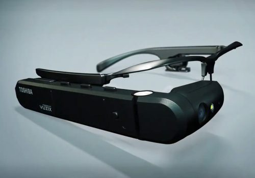 toshiba dynaedge augmented reality glasses ar smart