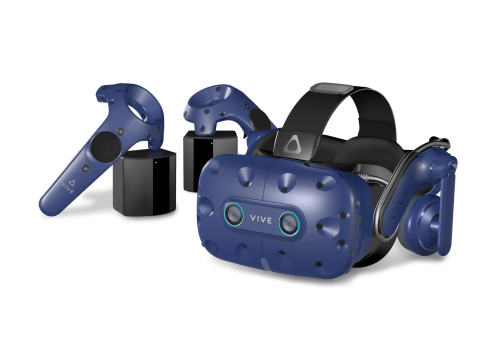 htc vive pro eye vr virtual reality headset hmd head mounted display immersiv spatial audio tracking best sound 360° degrees eye-tracking lens visual vision