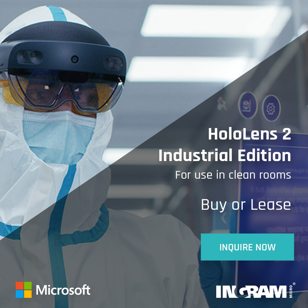 Microsoft HoloLens 2 Industrial Edition Banner