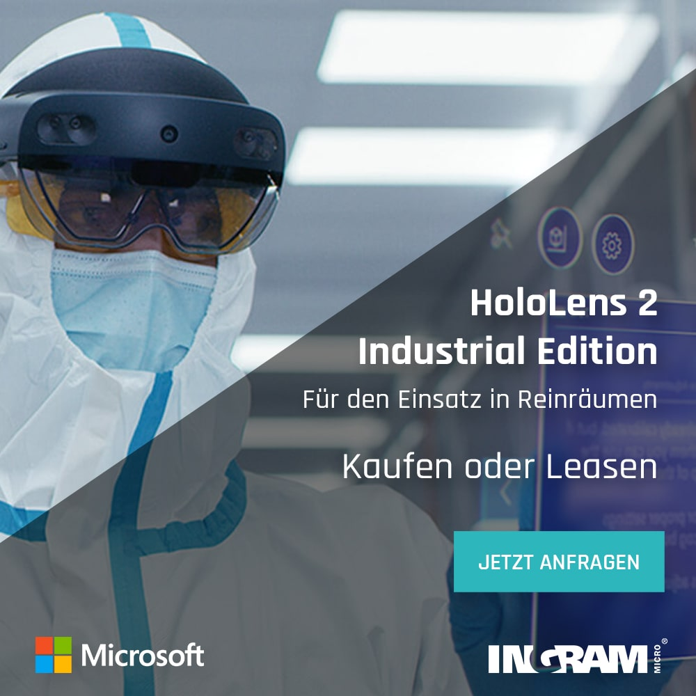 Microsoft HoloLens 2 Industrial Edition leasing