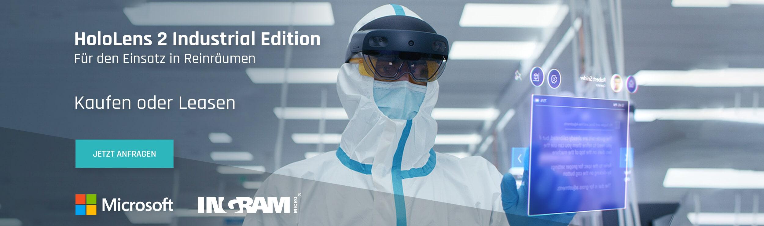 Microsoft HoloLens 2 Industrial Edition