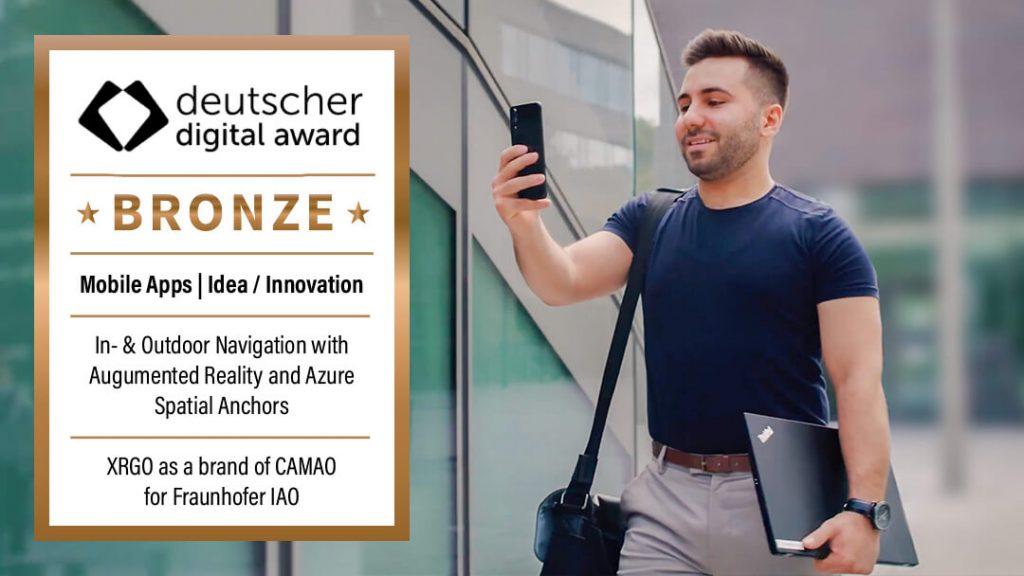 AR-Navigation – deutscher digital award 2021